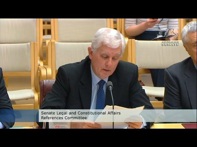 SSAA National President addresses Senate Inquiry