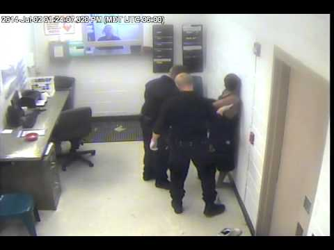 Surveillance video of beating at San Juan County Adult Detention Center