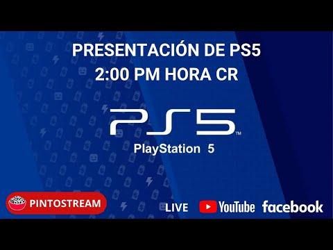 PINTOSTREAM:PRESENTACIÓN DE PLAYSTATION 5