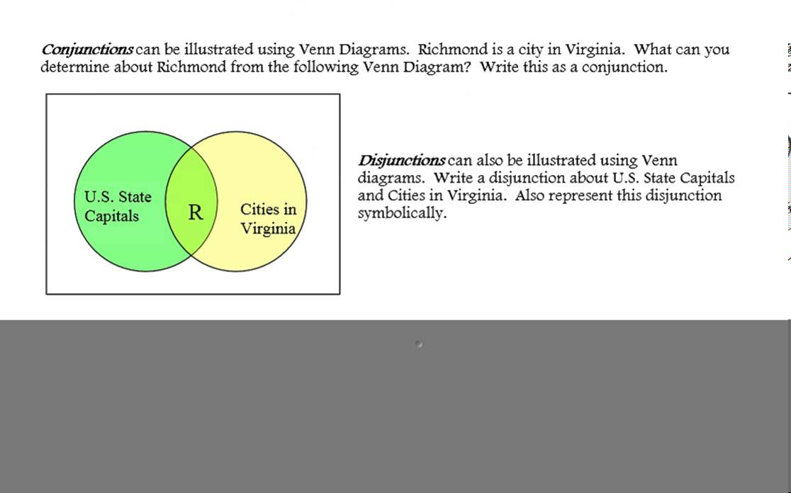 Inductive Reasoning And Venn Diagrams Lesson Youtube