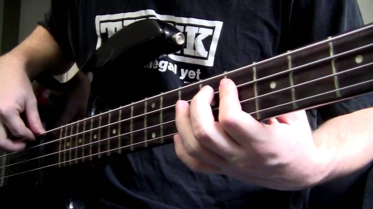 beginner bass guitar lesson awesome pentatonic bass jam ...