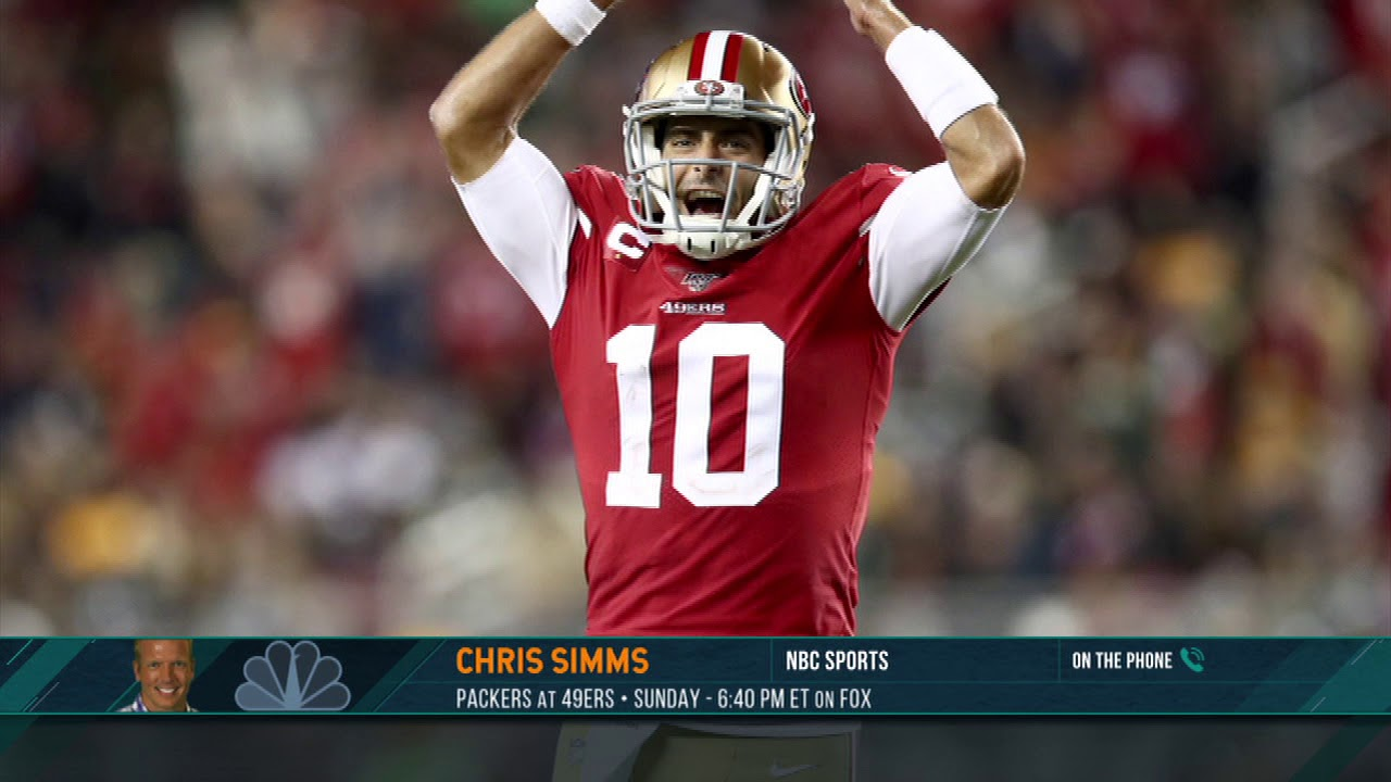Chris Simms Makes His AFC-NFC Championship Game Predictions | 1/17/20