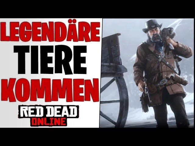 LEAKS ZU LEGENDÄREN TIEREN GEFUNDEN - Nächstes Update & Zukunft | Red Dead Redemption 2 Online