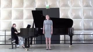 E. Grieg - Zur Rosenzeit, Op. 48 No. 5 - Anni Niemelä - Anni Laukkanen