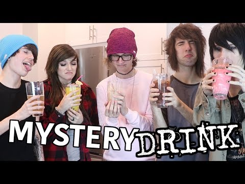 Mystery Drink Challenge OUR WORLD AWAY!! | Johnnie Guilbert