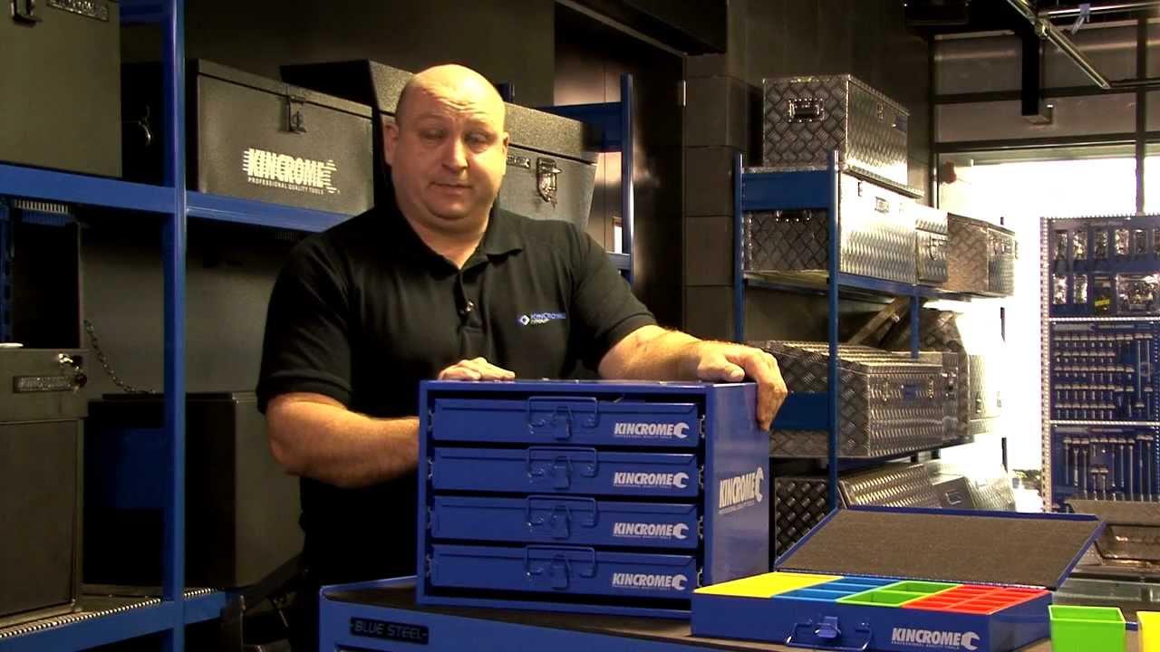 Kincrome Multi Storage Case Set 4 Drawer System K7612