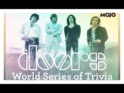 The Doors World Series Of Trivia presented by Mojo Magazine
