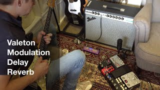 Valeton Dapper MDR - Modulation / Delay / Reverb Multi Effects Pedal