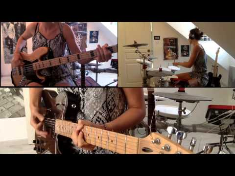 Muse - Resistance (One girl band cover)