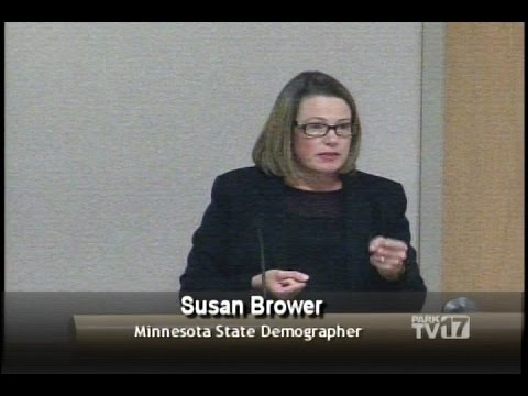 St. Louis Park Demographics with State Demographer Susan Brower 8/16/16