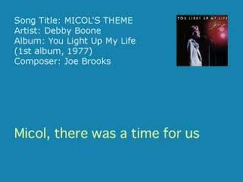 Debby Boone - Micol's Theme (Audio)