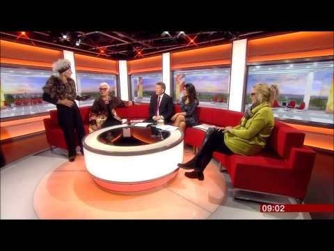 Sue Bourne, Sue Kreitzman And Bridget Sojourner On BBC Breakfast