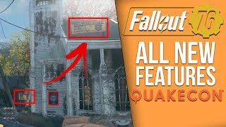 Fallout 76 New Details - New Weapons, Trading Posts, Mutations - (Fallout 76 Quakecon Feature Recap)