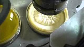 Фасовка майонеза в ведро на карусельном станке (хорека)(Машиностроительный завод