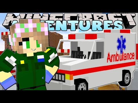 Minecraft Hospital - Little Kelly : 911 EMERGENCY CALL OUT!