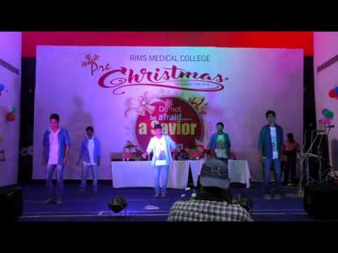 Tara velisindhi song dance by 2k16 batch.Rims prechistmas 2016