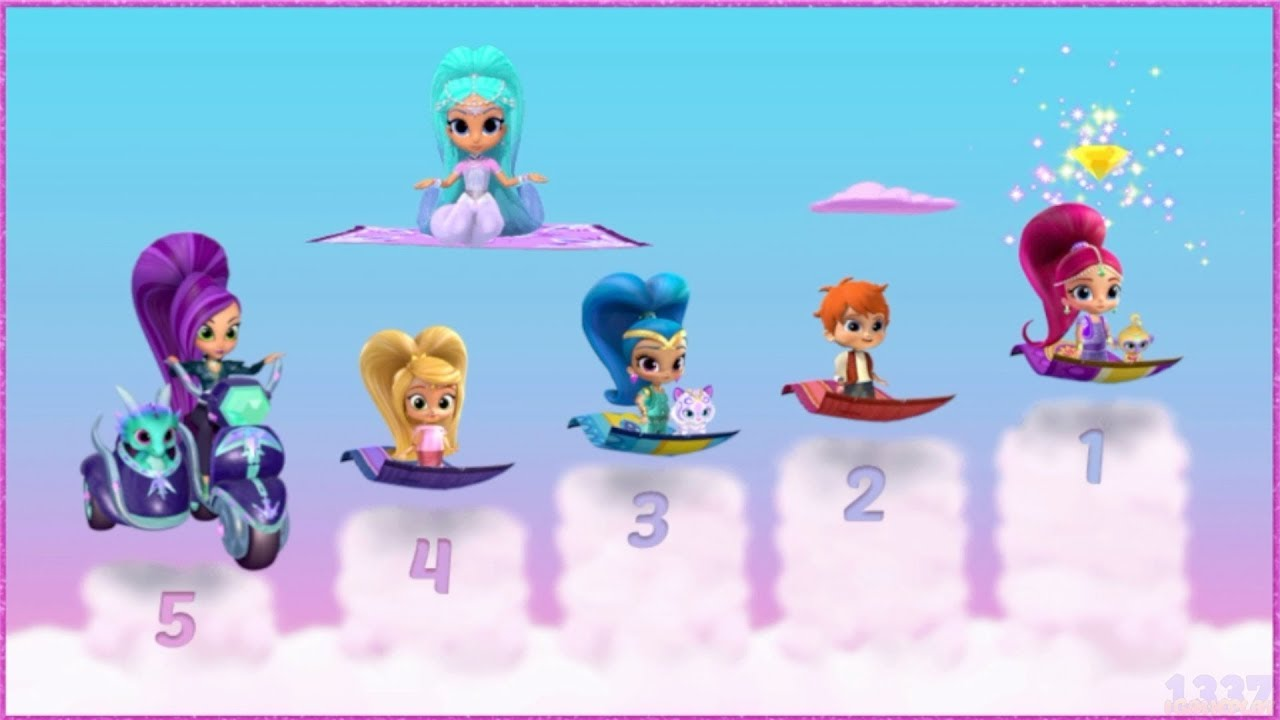 Download Shimmer and Shine - The Great Zahramay Falls Race - Cartoon Game Episode for Kids