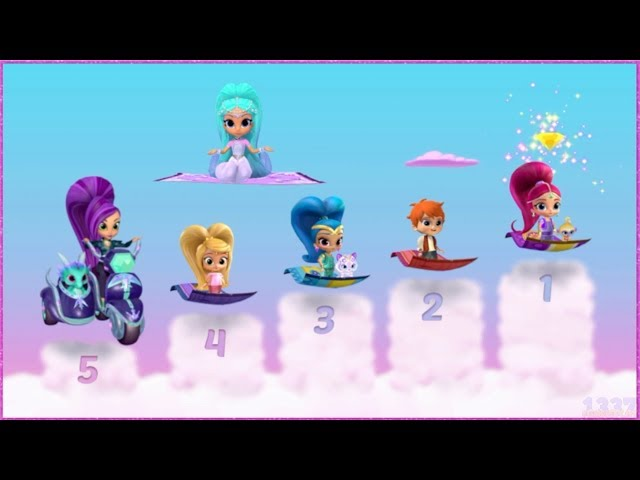 Shimmer and Shine - The Great Zahramay Falls Race - Cartoon Game Episode for Kids