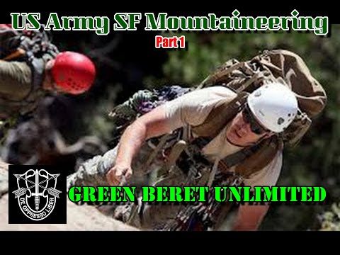 Special Forces Mountain Climbing Part I - Advanced Training