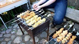 Маринады для шашлыка из курицы (11 разных)