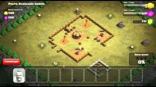 Clash of Clans (CoC) Missão Single Player #3 Posto Avançado Goblin