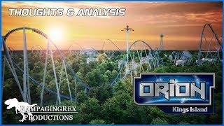 Thoughts on Orion | Kings Island 2020 Giga Coaster