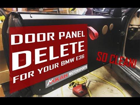 BMW E36 Aftermarket Door Panels from MKAH Motorsports!