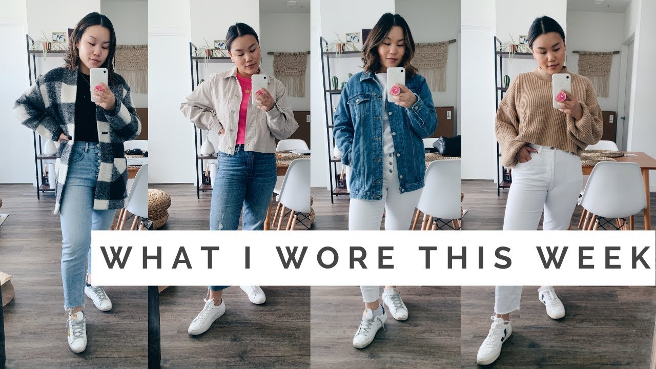 WHAT I WORE THIS WEEK || Casual Spring Outfits 2