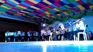 Filarmónicos, interpretando a nuestro insigne Alejandro Vega Matiz.