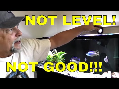 Preventing A Leak, Crack Or Tank Explosion - Getting My Aquarium Level!