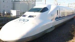 最後の700系C54編成廃車回送   東海道から完全撤退。