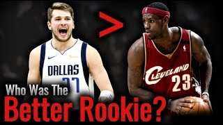 Luka vs LeBron, Who Was The Better Rookie?