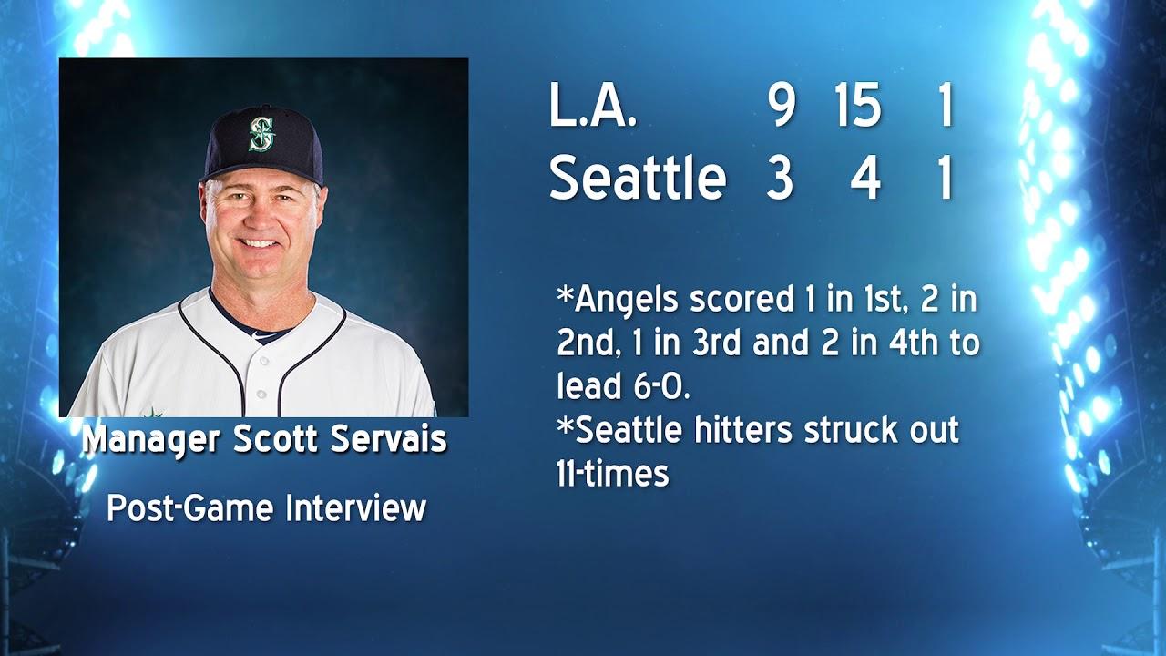 Scott Servais on Falling Behind 2019-05-30