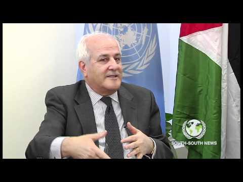 Global Roundtable - GFDD and H. E. Riyad H. Mansour (Ambassador of Palestine)