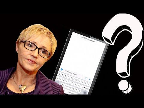 Hvem sendte sexmeldingen til Liv Signe Navarsete?