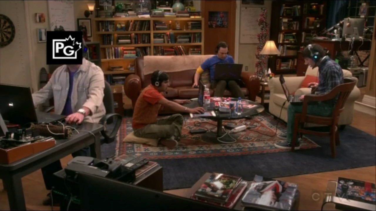Big Bang Couch Gag Tbbt And Overwatch