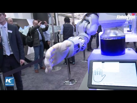 LIVE: High-tech Innovations At Hannover Messe In Germany