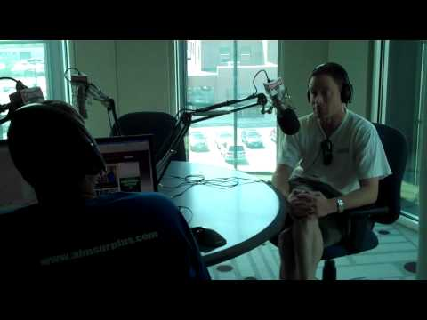 Dave Revsine Visits 97.1 The Fan in Columbus
