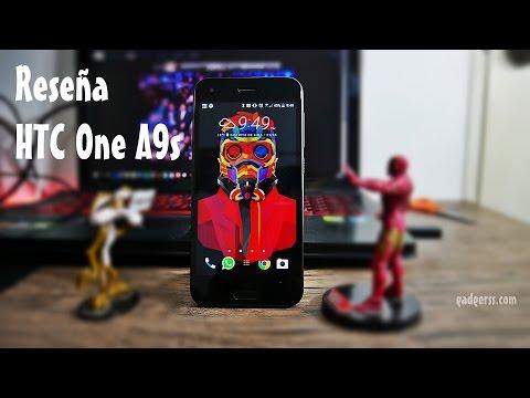 Reseña del HTC One A9s (Review en español)