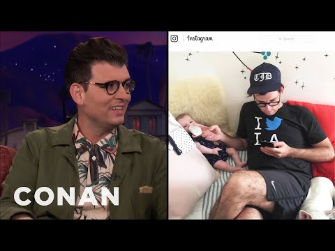 Moshe Kasher: It's Very Easy Being A Dad  - CONAN on TBS