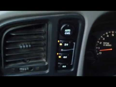 Chevy Silverado 4wd Switch Replacement Youtube