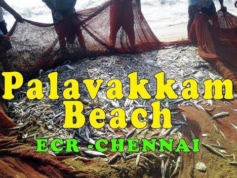 chennai palavakkam beach ECR vlog