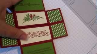 Never Ending Christmas Card with Stampin' Up! Products