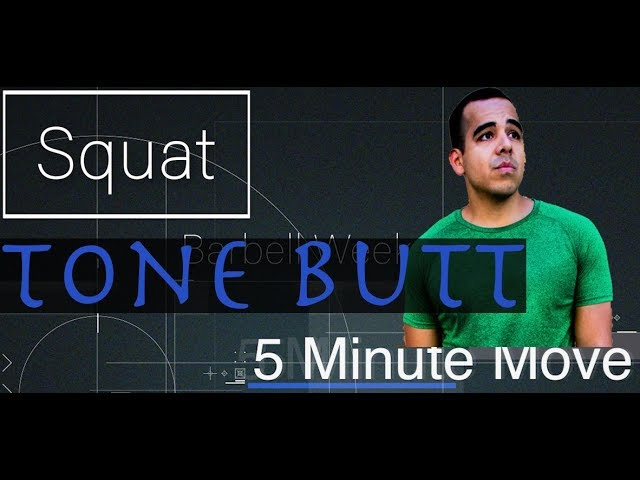Squats - Barbell - 5 Minute Move - Friday