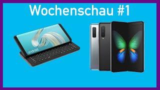 Das neue Galaxy Fold, LG g8x und mehr... | Wochenschau #1 | TechNews.de