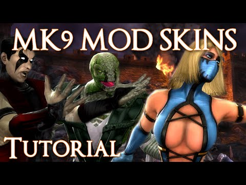 Mortal Kombat 9 | How To Download & Install Custom Skins And DLC [ Tutorial ] [2014]