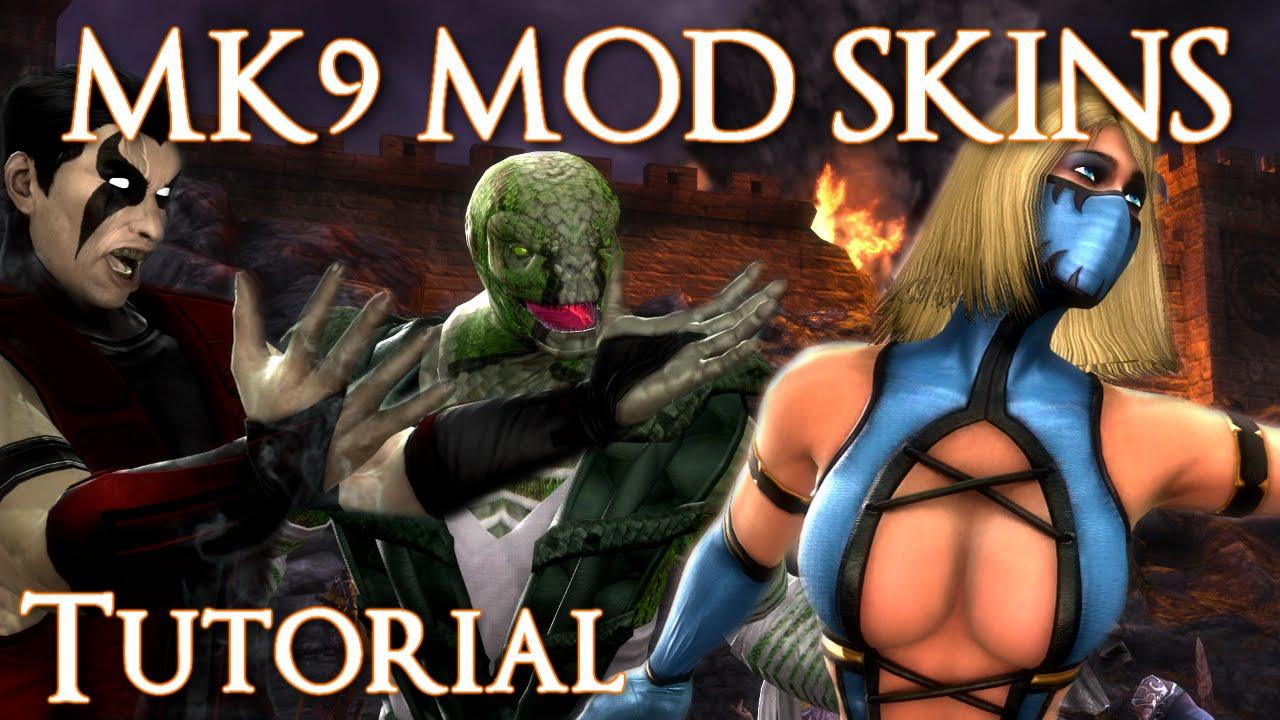 Mortal Kombat 9   How To Download & Install Custom Skins and DLC [ Tutorial  ] [2014]