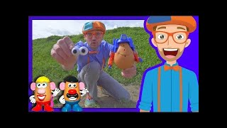 Potato Heads with Blippi on the Farm | Videos for Toddlers