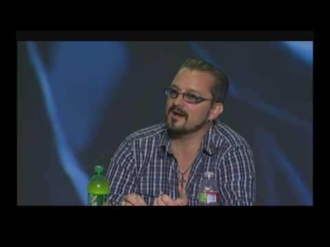 Blizzcon 2009 Chris Metzen  Voice actor in old blizz games !