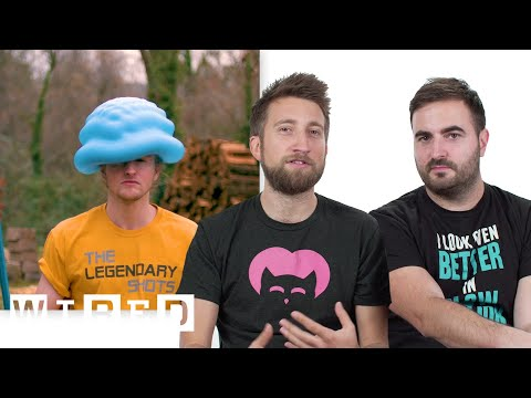 The Slow Mo Guys Break Down Slow Motion Videos   WIRED